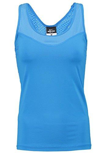 Nike Pro Hypercool Débardeur pour femme azul / blanco (chalk blue / white)