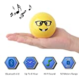 Mini Portable Wireless Bluetooth Speaker Small Size Heavy Bass Built In Microphone Handsfree Calling Support Micro SD Card 4.0 Bluetooth Works 60 Feet 8 Hrs Playtime Hifi Sound(Moneyface)