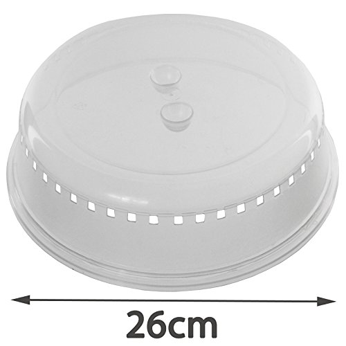 SPARES2GO Universal Microwave Oven Steamer Dish