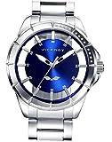Viceroy Reloj Analógico para Hombre de Cuarzo con Correa en Acero Inoxidable 401051-37