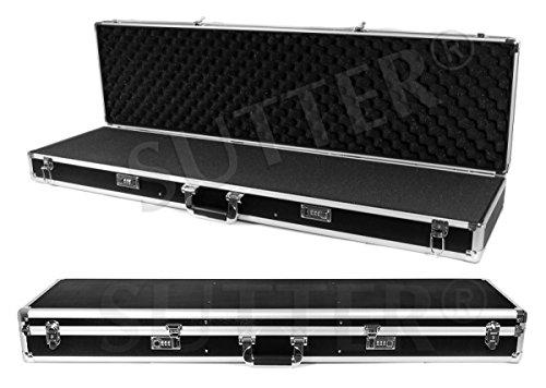 Mallette pour armes en aluminium 125x36x15cm - Malette fusil et arme - Housse fusil et arme