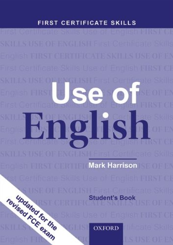 Use of English. First Certificate Skills. Student's