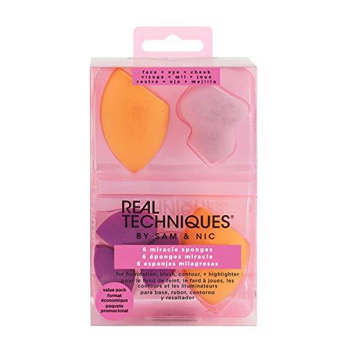 Real Techniques 6 Miracle Complexion Sponges Esponjas