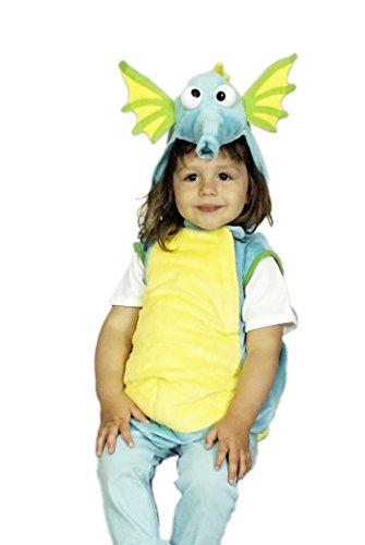 Kinderweste Weste Seepferdchen für Kinder | Größe 140/152 | Seepferdchen Kostüm (Kind Seepferdchen Kostüm)