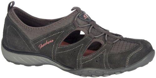 skechers-womens-dark-grey-breathe-easy-carefree-suede-memory-foam-sandals-3