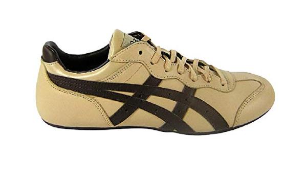 Asics Whizzer Lo Le beige / Brown Leather Beige Size: 10.5: Amazon ...