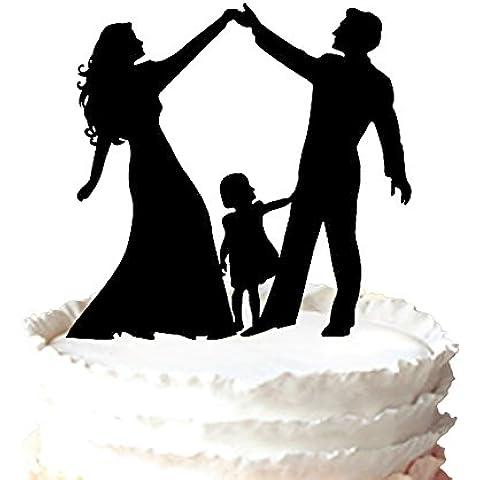 kaishihui è amore torta Topper di fidanzamento