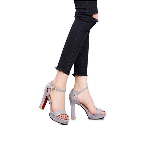 Chaussures élastiques à talon haut