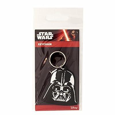 Star Wars - Porte-clés caoutchouc Darth Vader 6 cm