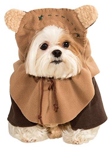 Rubies Costume Star Wars Kollektion Pet Kostüm, Ewok, Large, Ewok - Hoodie Star Kostüm Wars