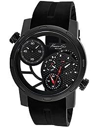 Kenneth Cole Transparency KC8018 Reloj de Pulsera para hombres Segundo Huso Horario