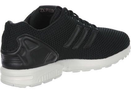adidas ZX Flux Garcon Baskets Mode Noir Noir