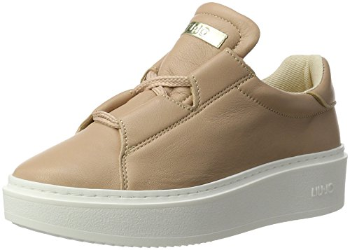 LIU JO scarpe donna sneakers con piattaforma S17131 P0062 SNEAKERS C/LACCI NAO Rosa