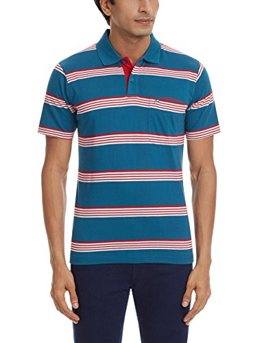 Proline Men's Polo (8907007242087_PC10056C_Large_Mid Blue)  available at amazon for Rs.339