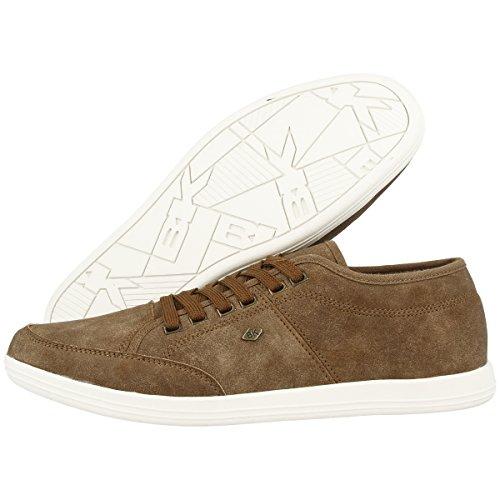 Chevaliers Britanniques - Poka Lo, Sneaker Basse Uomo Taupe (b34-3609-02)
