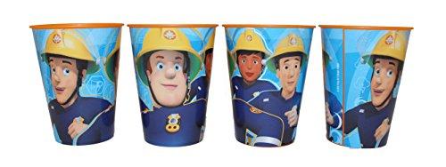 Feuerwehrmann Sam Pompier Sam Tasse Gobelet Tasse de verre Set 4