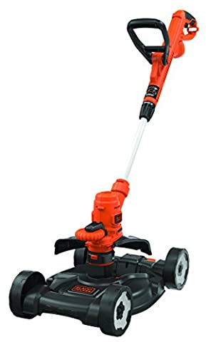 Black + Decker ST5530CM Outil 3 en 1 Coupe-bordure/Tondeuse/Dresse-bordure 550 W 30 cm