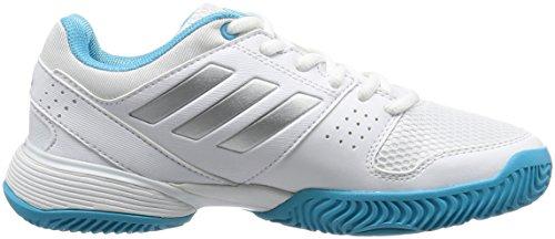 "Boys Tennisschuhe Outdoor ""Barricade Club xJ"" ftwr white/silver met./samba blue s14"