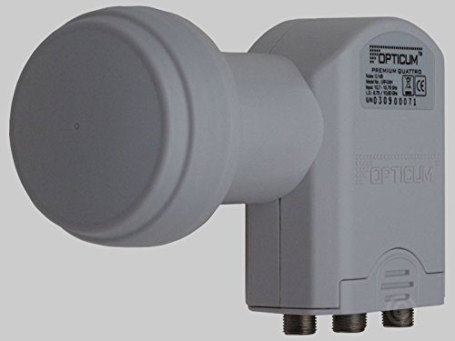 Opticum LRP 04 Quattro LNB für Satellien-Receiver (0,2dB)