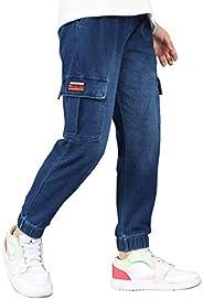 Maeau Jeans da bambino in denim