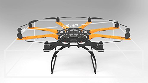 AIRK FireClouds FullFrame Kit - Drones DIY (FC8 - Octocopter) - 4