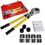 SHIOUCY Presszange TH-Kontur Rohrpresszange 16-32mm Pressbacken f. Pressbacken für PEX Rohr, Verbundrohr (TH-Kontur)