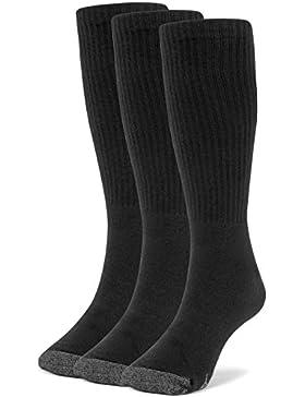 Galiva Calcetines extra suaves de algodón para niño, Medias de fútbol - 3 pares