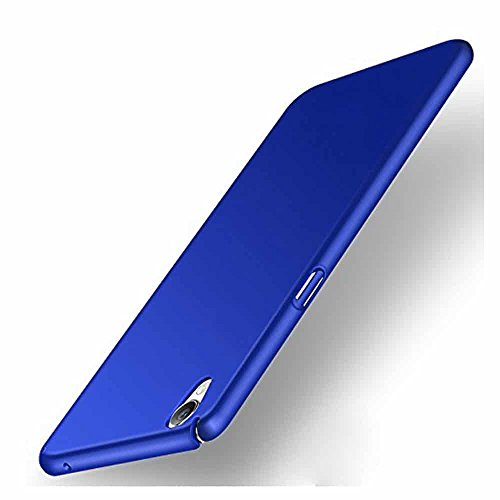 Case Cloud™ All Sides Protection '360 Degree' Sleek Rubberised Matte Hard Case Back Cover for Vivo Y51L - Royal Blue