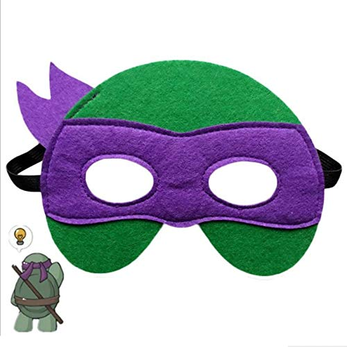 VAWAA Ninja Turtles Maske Captain America Teenage Mutant Ninja Turtles The Avengers Kid Geburtstagsgeschenk Cosplay Party Masken