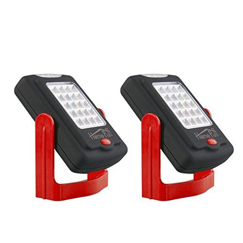 homepuff-2pack-23-led-work-light-flashlight-inspection-flashlight-led-lantern-with-magnetic-rotation