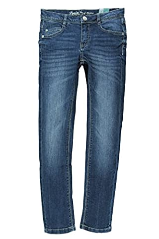 Lemmi Mädchen Skinny Jeanshose fit MID, Gr. 152, Blau (blue