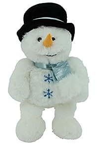 sweety toys 4737 bleu doudou bonhomme de neige peluche xxl c liner env 65 cm de long avec. Black Bedroom Furniture Sets. Home Design Ideas