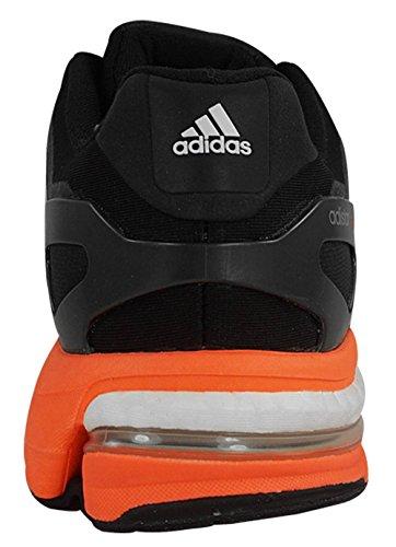 Adidas Adistar Boost eSM Chaussures Hommes 8 Noir-blanc-rouge solaire Courir Black-White-Solar Red