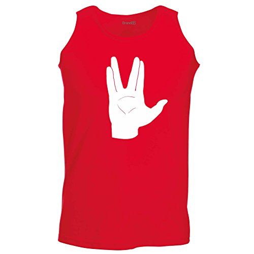Brand88 - LLAP, Unisex Athletic Weste Rot/Weiss