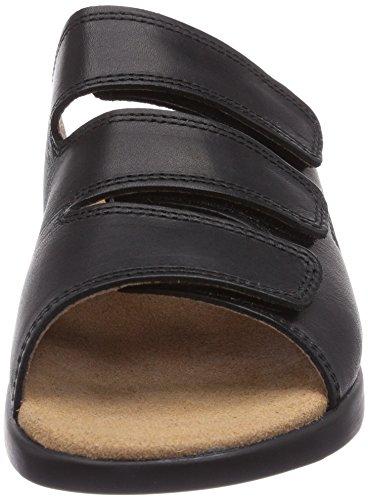 Gevavi  3201 BIGHORN SLIPPER, Mules femmes Noir - Schwarz (schwarz(zwart) 00)