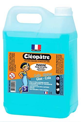 Cléopâtre CMC5L-Ricariche di colla, 5 kg, colore: blu Navy