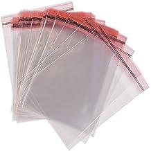 100 x A4 Bolsas De Celofan Transparente Autoadhesivo Sello Con Solapa Peel & Seal Bolsas Multi Tamaños, 21.5cm x 30cm