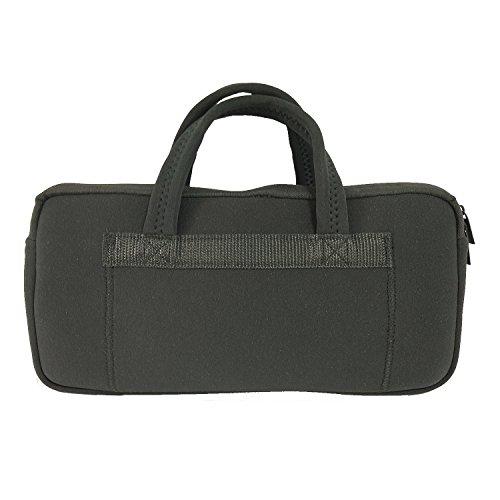 Galleria fotografica Borsa in morbido neoprene, colore: nero Black Canon Selphy CP1200 Case