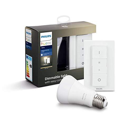 Hue White E27 Wireless Dimming Kit 1x806lm Bluetooth, Dimmschalter
