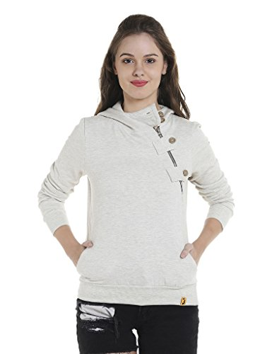 Campus Sutra Women's Cotton Sweatshirt