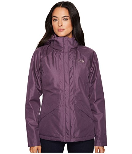The North Face Women's Inlux Insulated Jacket - Dark Eggplant Purple - XS (Past Season) Inlux Insulated Jacket
