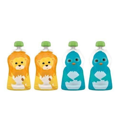 squooshi-reusable-food-pouch-small-lion-bluebird-25-ounce-4-count-by-squooshi-english-manual