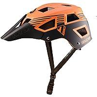 Seven M5Casco de Bicicleta de montaña Mixta, M5, Naranja/Negro