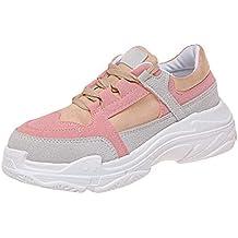 Zapatos Suela Mujer Gruesa es Amazon TfqwaH
