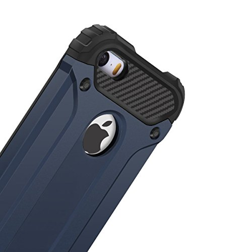Finoo Hybridcase - Bleu, Iphone 6/6s Bleu