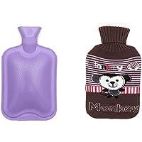 Wärmflasche mit Deckel - 1 Liter - Kleines Affe-Muster preisvergleich bei billige-tabletten.eu