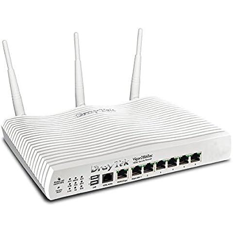 DrayTek - DrayTek Vigor 2860ac, AC1600 Triple-WAN Router - 3G/4G