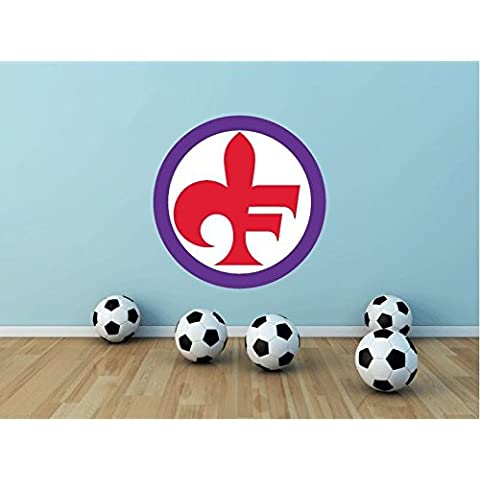 ACF Fiorentina Italia fútbol deporte de 55 x 55 cm de adhesivo de vinilo decoración para el hogar