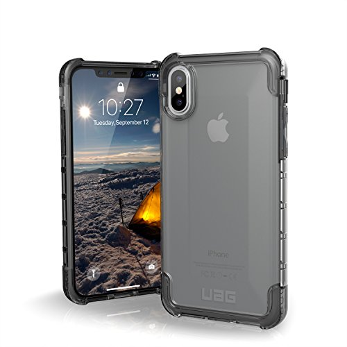 Urban Armor Gear Plyo per Apple iPhone Xs / X Custodia protettiva Cover con standard militare americano case [Compatibile con il Qi wireless] - trasparente