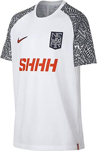 1437fb16 Nike NYR B NK Dry Top SS T- T-Shirt Garçon, White/